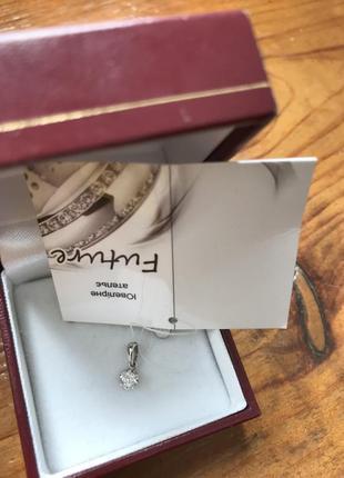 Подвеска с бриллиантом золото 585 проба обмен