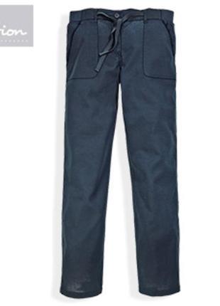 Льняные штаники на лето от blue motion р. 44