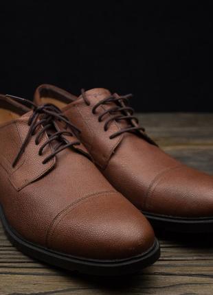 6aa74d5d7 Кожаные мужские туфли 2019 - купить недорого мужские вещи в интернет ...