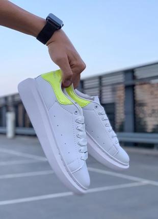 Стильные кроссовки ❤ alexander mcqueen lemon ❤