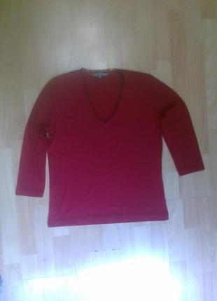 Фирменный реглан блузка