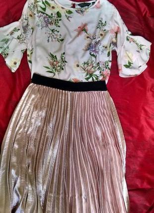 Очень нежная блуза dorothy perkins5 фото