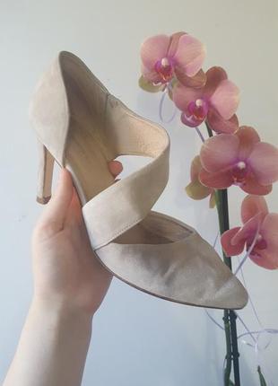 Тренд туфли на каблуке от roberto santi кожа