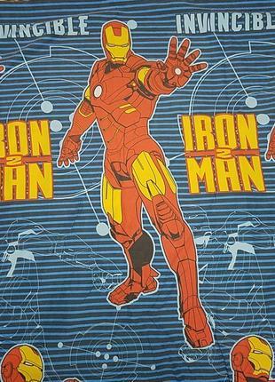 Железный человек постельное iron man