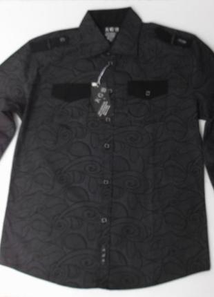 Тонкая рубашка с длинным рукавом. xxl размер. турция.