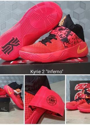 Новые баскетбольные кроссовки nike kyrie 2 inferno-торг за последний размер.