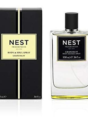 Нишевый парфюм nest fragrances grapefruit body & soul spray