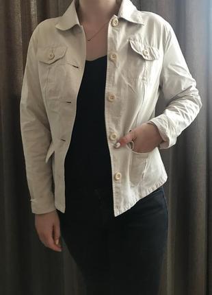 Лёгкий светлый пиджак/  піджак  на літо приталений street one