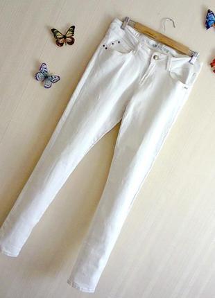 35 стильные джинсы узкачи skinny от denim co