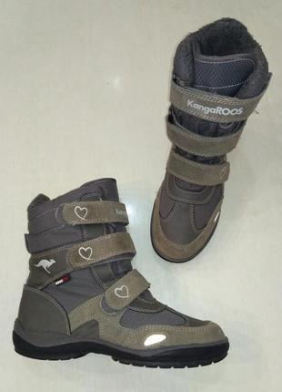 Kangaroos зимние термосапоги, ботинки с мембраной