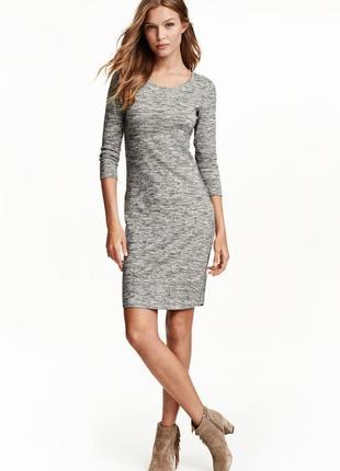 Новое платье миди от h&m