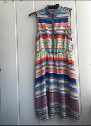 Яркое летнне платье