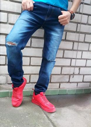 Стильные стрейчевые джинсы!!!