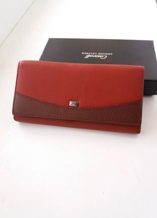 Жіночий шкіряний гаманець коданый женский кошелек кошельок кожа