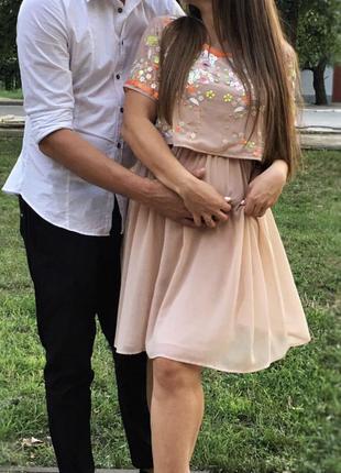 Вечернее нарядное платье для беременных и кормящих asos