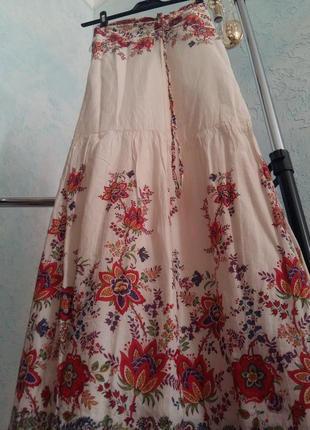 Платье маки с цветочным принтом