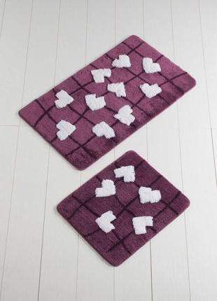 Набор ковриков для ванной турция alessia