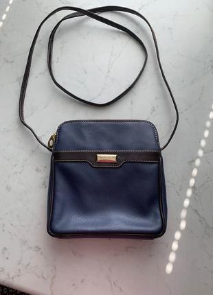 Кожаная сумка кроссбоди  планшет  известного британского бренда osprey