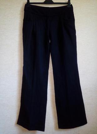 Стильные широкие брюки на высокий рост