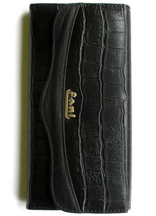 Кожаный кошелек крокодил + картхолдер , 100% натуральная кожа, есть доставка бесплатн2 фото