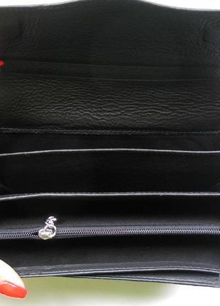 Кожаный кошелек крокодил + картхолдер , 100% натуральная кожа, есть доставка бесплатн4 фото