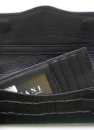 Кожаный кошелек крокодил + картхолдер , 100% натуральная кожа, есть доставка бесплатн5 фото