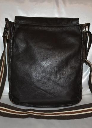Мужская кожаная сумка rocha.john rocha2 фото