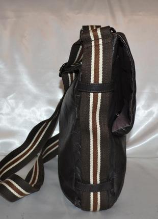 Мужская кожаная сумка rocha.john rocha3 фото