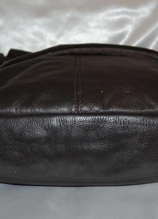 Мужская кожаная сумка rocha.john rocha4 фото