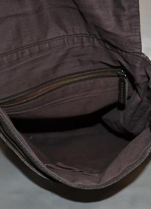 Мужская кожаная сумка rocha.john rocha6 фото