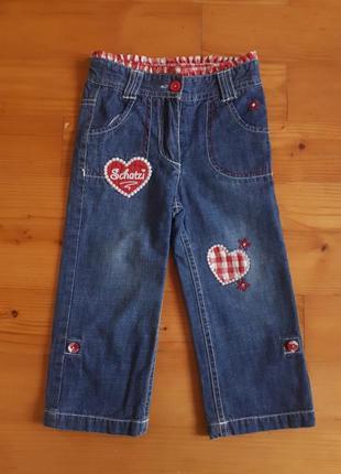 Крутые джинсы для юной модницы