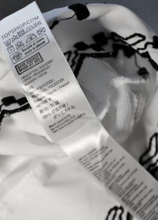 Нежная белая блуза с вышивкой7 фото
