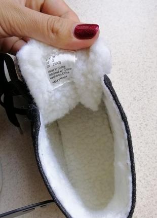 Хайтопы h&m ботинки тёплые4 фото