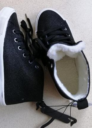 Хайтопы h&m ботинки тёплые5 фото