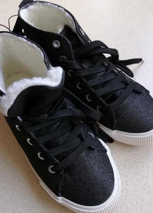 Хайтопы h&m ботинки тёплые8 фото