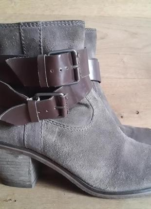 Ботинки ash 100% замша