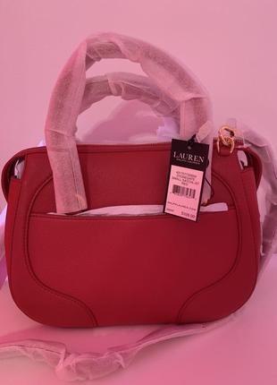 Кожаная сумка ralph lauren оригинал из сша6 фото