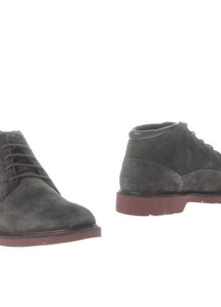 Замшевые ботинки geox