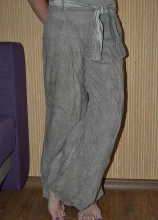S/36/8 модные и легки штаны алладины, италия. широкие штаны. шаравары.
