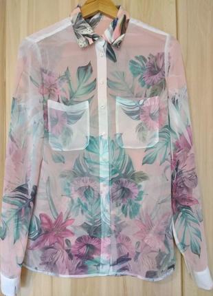 Шикарная яркая блуза от guess оригинал