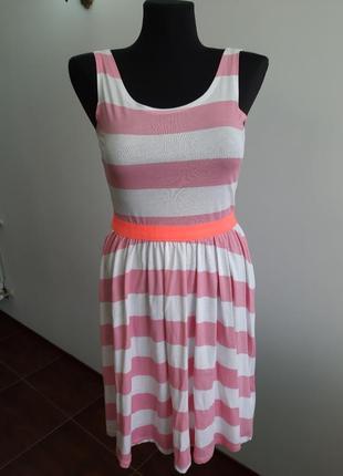 Новое коттоновое платье hm на 12-14 лет рост 264