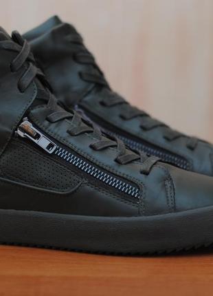 175b6a693 Зеленые мужские высокие кроссовки, ботинки zara man. 45 размер. оригинал