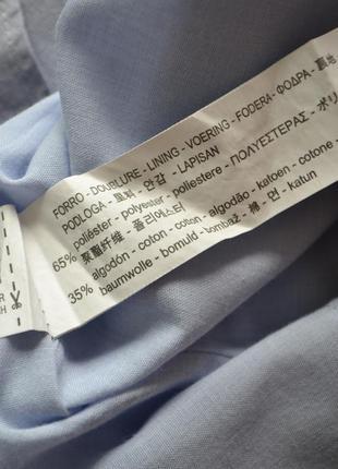 Легкое летнее свободное платье с воланами хлопок zara6 фото