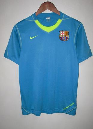 Футболка nike f.c. barcelona. оригинал