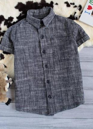 Стильная летняя льняная рубашка