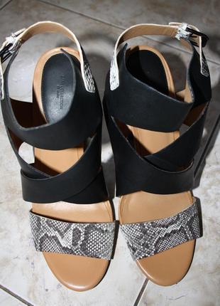 Новые босоножки на шикарном каблуке zara