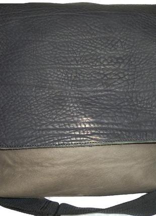 Шикарная большая  сумка для мужчин натуральная кожа lupo испания