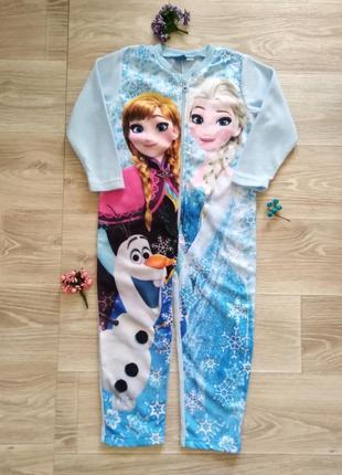 Флисовая пижама disney