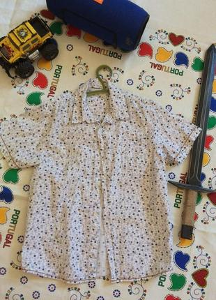 Крутая рубашка в принт