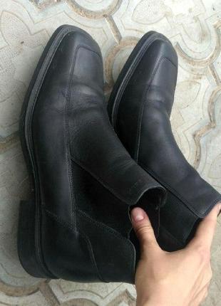 Мужские ботинки осень туфли туфлі чоботи geox